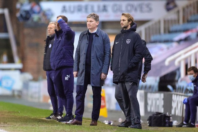 Joe Gallen is currently caretaker boss as Pompey seek a manager to replace Kenny Jackett. Picture: Nigel Keene/ProSportsImages
