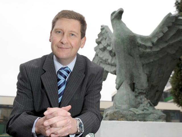 Headteacher of St Edmund's Catholic School, Simon Graham