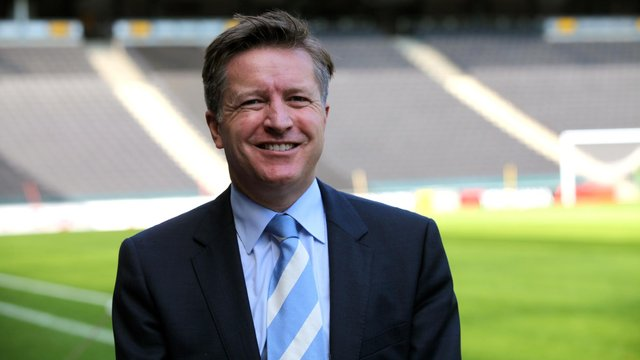 New Pompey chief executive Andrew Cullen