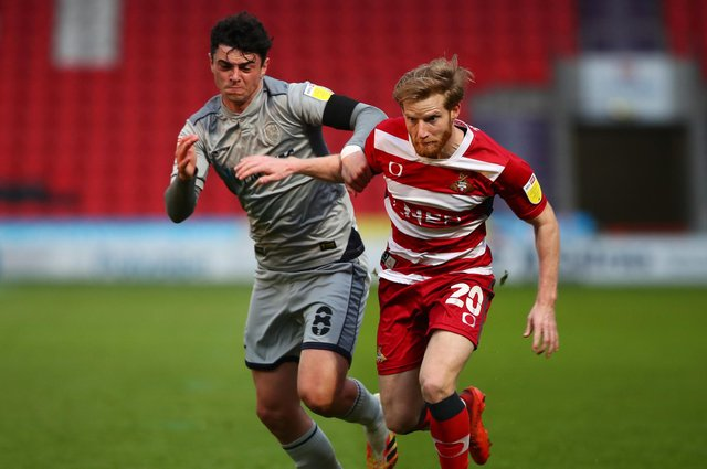 Josh Sims in action for Doncaster Rovers last season.  Picture: Joe Portlock/Getty Images
