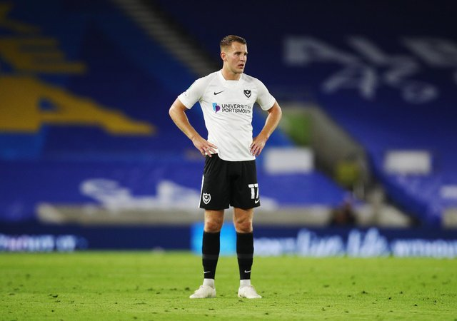 Bryn Morris made 28 appearances and scored once during his time at Pompey. Now he has joined Burton. Picture: Joe Pepler