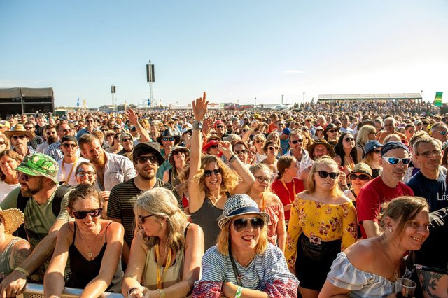 MP Stephen Morgan has called for the introduction of a government backed insurance scheme to help ensure Victorious Festival organisers have the security to plan for this year's event to go ahead.   Picture: Vernon Nash (250819-043)