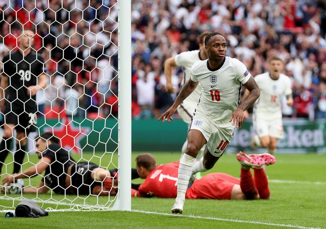 Raheem Sterling. Picture: Catherine Ivill/Getty Images