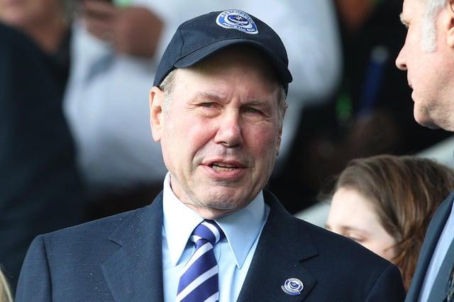 Pompey chairman Michael Eisner. Picture: Joe Pepler