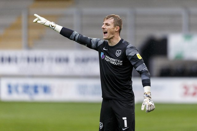 Pompey first-choice keeper Craig MacGillivray has left Fratton Park after Danny Cowley opted not to activate a contract option. Picture: Daniel Chesterton/phcimages.com