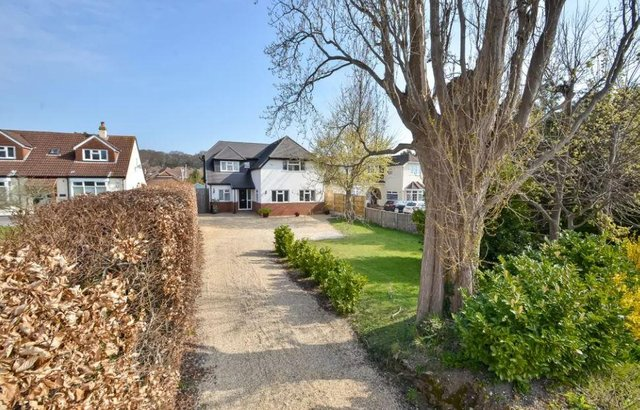 The Croft in Portchester is on sale for £850,000.
