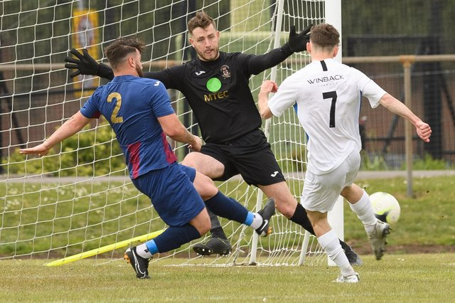 Goalkeeper Tom Price has gone back on his decision to retire this summer and has signed for Moneyfields. Picture: Keith Woodland