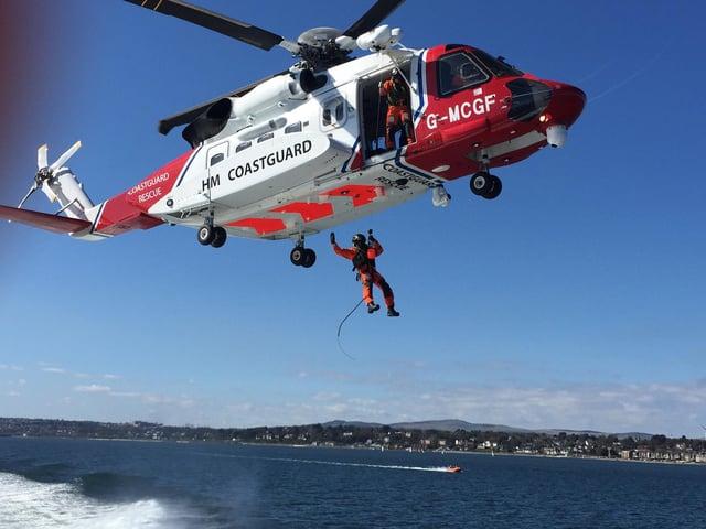 HM Coastguard S-92 aircraft. Picture: Maritime and Coastguard Agency