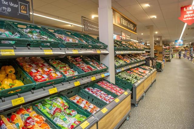 GV of the Aldi Store, Gamble Road, Portsmouth. Picture: Habibur Rahman