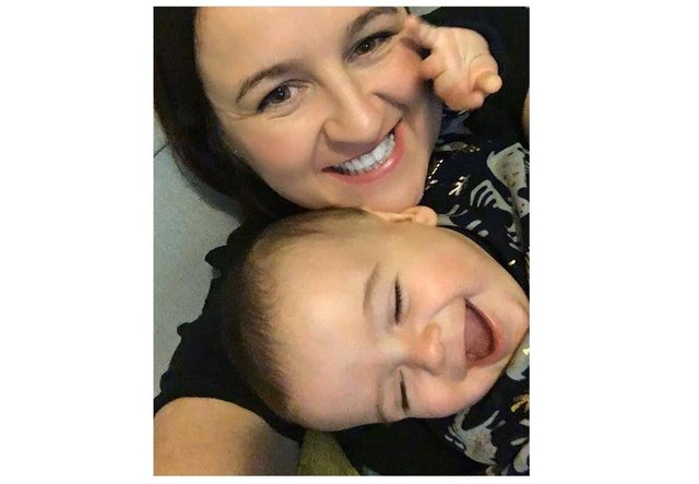 Gosport mum of three Kirsty Smillie pictured with her son Brody