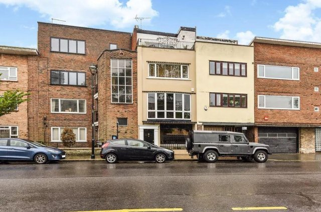 This three bed town house in High Street, Old Portsmouth, is on sale for £800,000.