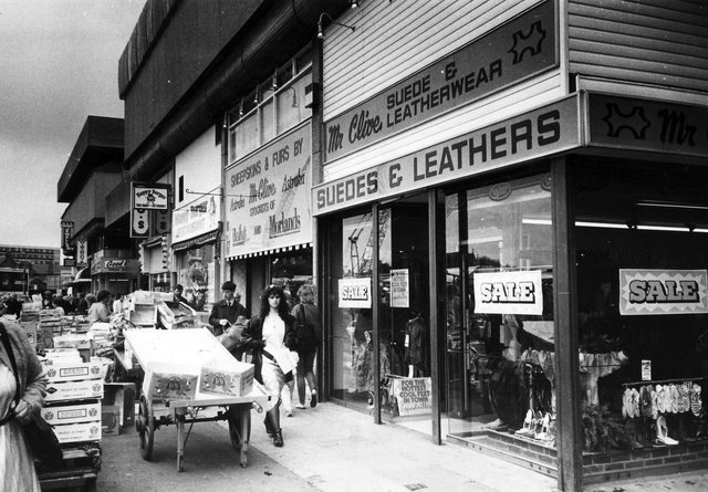 Do you remember Mr Clive - the suede and leatherwear shop at the Tricorn Centre?