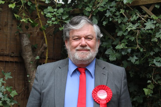 Labour Hampshire police and crime commissioner candidate Tony Bunday