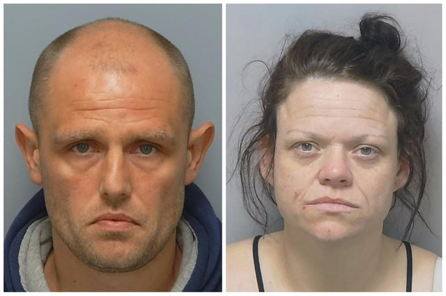 Bradley Baker and Hayley Batchelor. Picture: Hampshire police