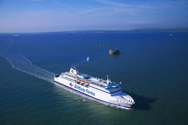 MV Cap Finistère operated by Brittany Ferries between Portsmouth - Santander & Bilbao