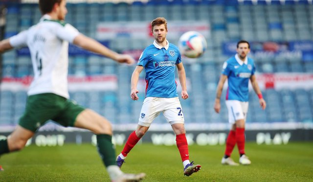 Michael Jacobs is in talks with Ipswich over a move to Pompey's League One rivals. Picture: Joe Pepler