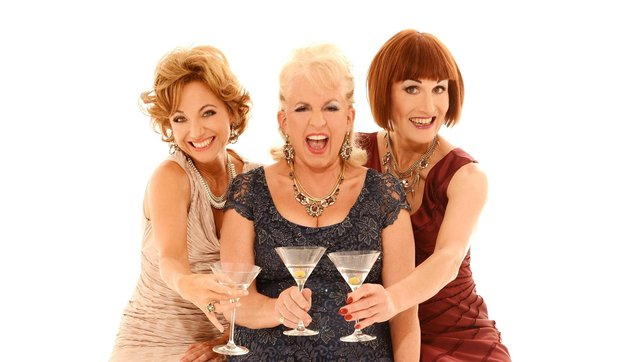 Fascinating Aida (from left: Liza Pulman, Dillie Keane and Adèle Anderson) are at The Kings Theatres, Southsea on September 21, 2021. Picture by Johnny Boylan