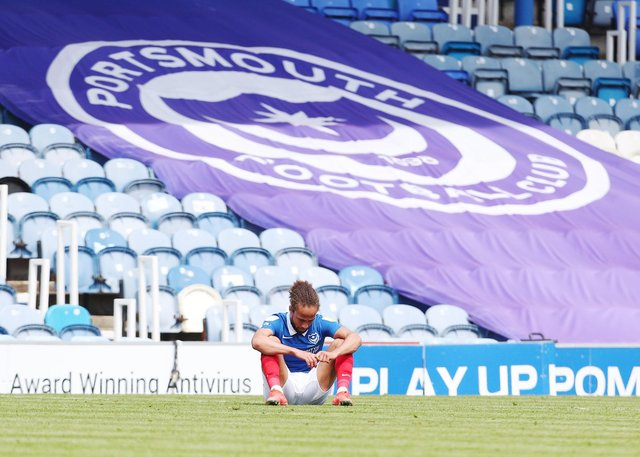 Pompey have been challenged with an even stiffer task to get out of League One next season. Picture: Joe Pepler