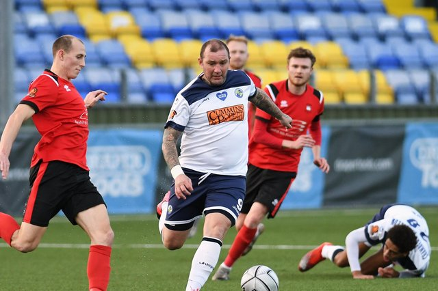Danny Kedwell in action for the Hawks last season. Picture: Neil Marshall (160121-182)