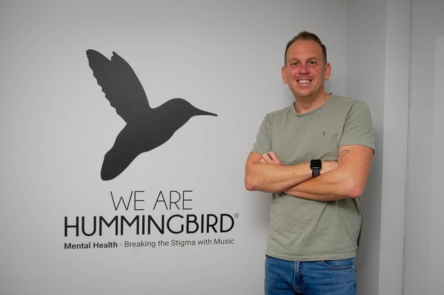 Ian Hurst runs mental health organisation We Are Hummingbird which does mental health training. Pictured: Ian Hurst at his home in Fareham on 18 December 2020Picture: Habibur Rahman