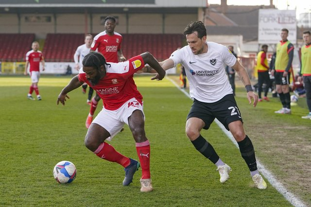 Charlie Daniels endured a Swindon nightmare in last night's 3-1 defeat. Picture: Jason Brown/ProSportsImages