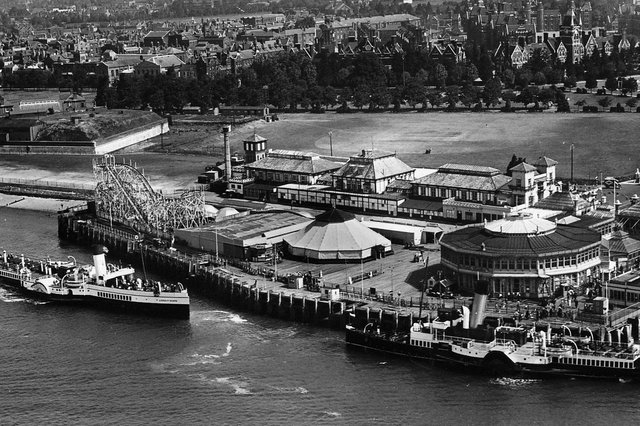 Clarence Pier with the paddle steamer Lorna Doone on the left. This picture was taken shortly before the outbreak of war in 1939. Picture: Robert James collection