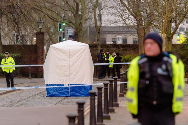 Police launched an investigation after a newborn baby was found dead in Old Commercial Road at the junction with Victoria Street in Buckland on Saturday, January 25 2020 at 6.18am. Picture: Keith Woodland (250120-7)