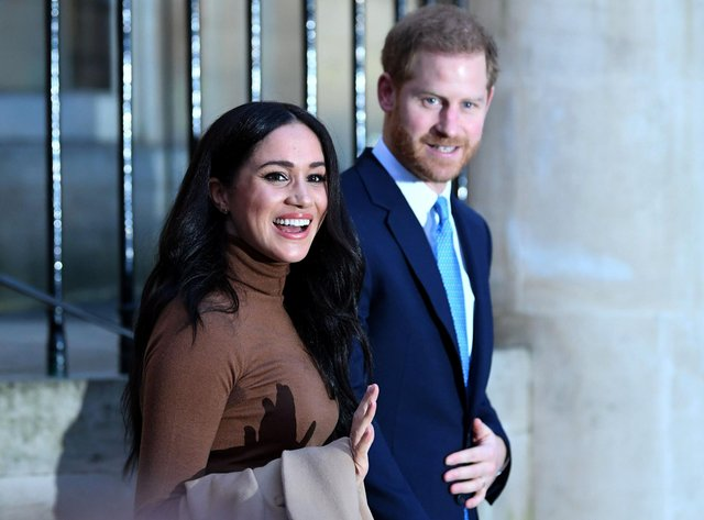 Prince Harry, Duke of Sussex and Meghan, Duchess of Sussex Photo: Daniel Leal-Olivas WPA Pool/Getty Images