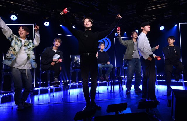 BTS at iHeartRadio Theater New York on May 21, 2019 in New York City. Photo by Jamie McCarthy/Getty Images