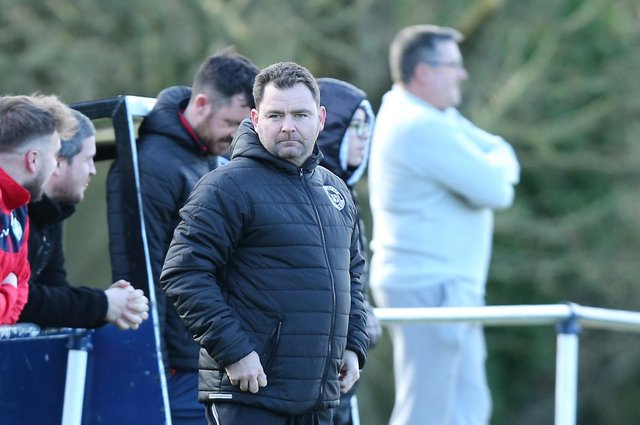 Paulsgrove manager Wayne Grant. Picture: Chris Moorhouse