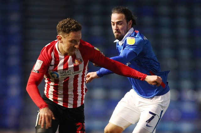 Ryan Williams in action during the defeat to Sunderland. Picture: Joe Pepler
