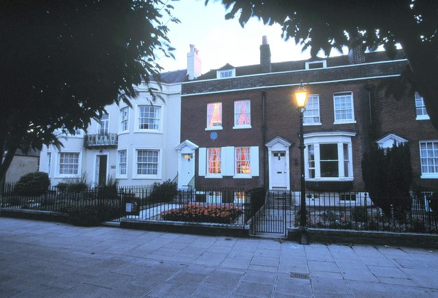 Charles Dickens' birthplace in Commercial Road. Picture: Portsmouth City Council