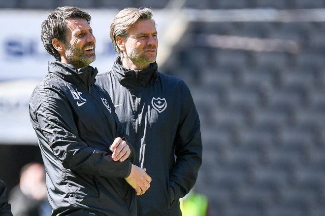 Danny and Nicky Cowley are poised for a Pompey stay.