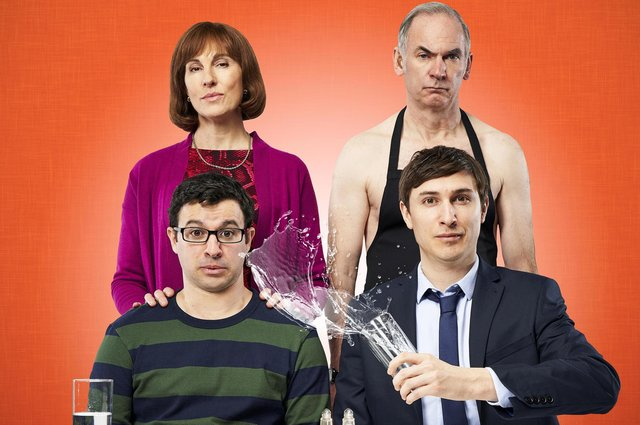 With Simon Bird, Tamsin Greig, Paul Ritter and Tom Rosenthal.