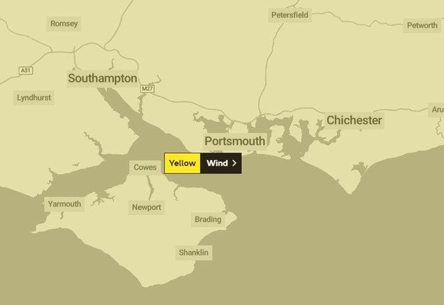 The Met Office has issued a yellow weather alert for Wednesday and Thursday