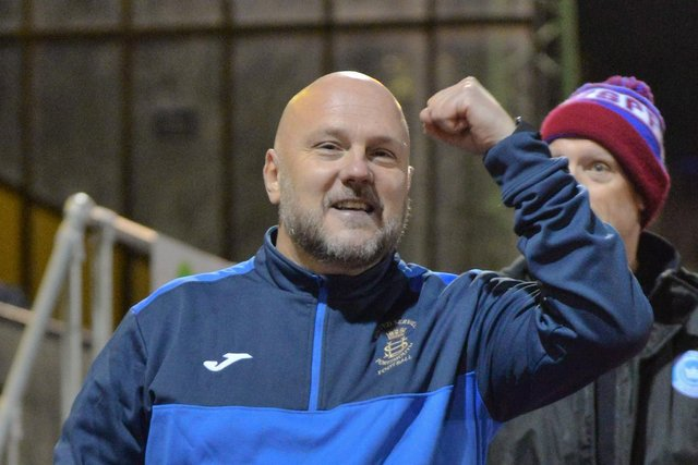 Glenn Turnbull will take over as Moneyfields manager at the end of May. Pic: Martyn White.