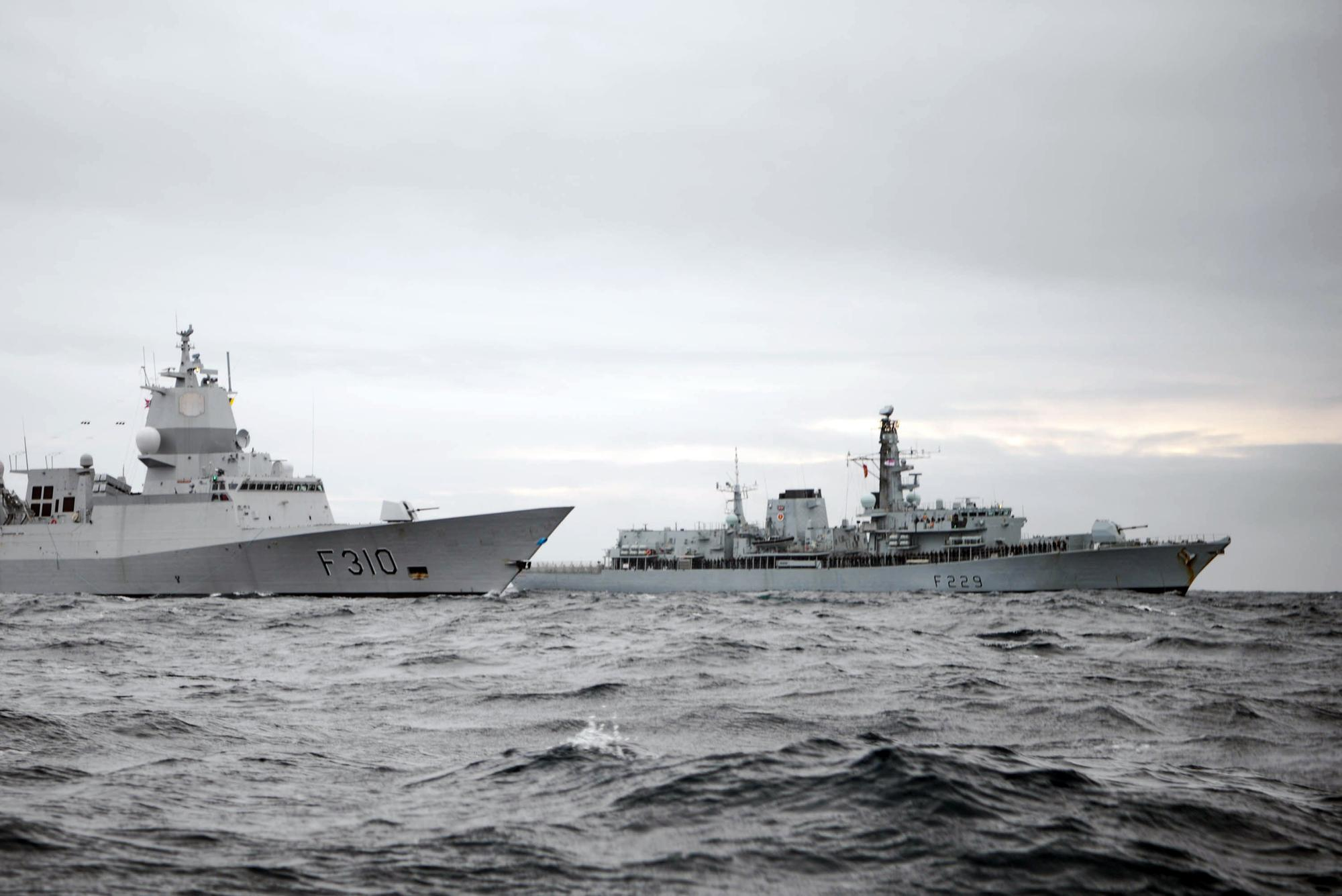 Navy deploys warship to Arctic as quest quell Russian dominance intensifies