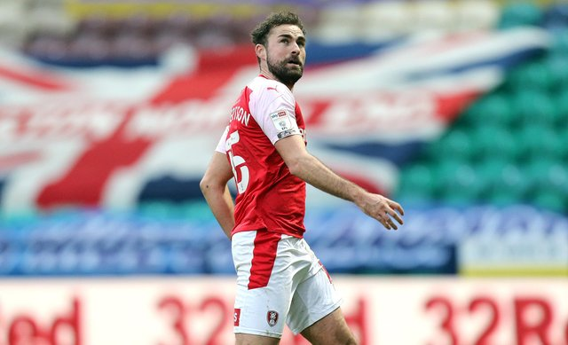 Clark Robertson suffered injury problems during three seasons at Rotherham - but Danny Cowley has the solution. Picture: Rich Linley/CameraSport