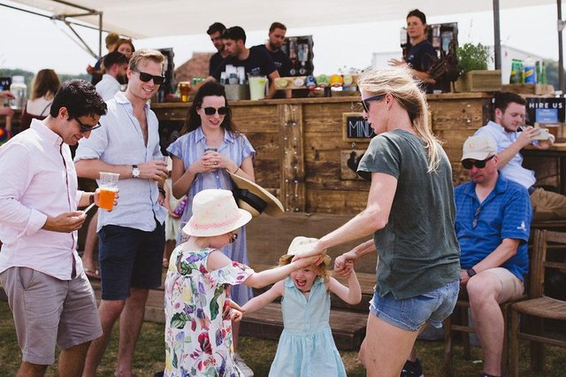 Stansted Unlocked will take place on July 10 and 11. Picture: The Three Cockerels, the mobile bar in attendance at a previous event