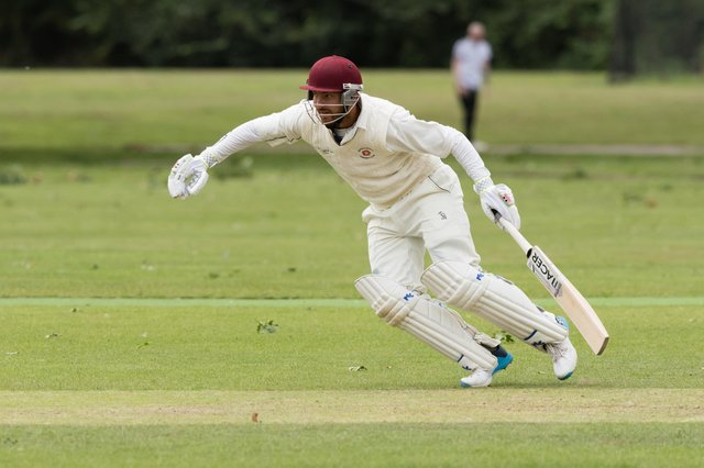 Alex Shepherd hit 75 for Waterlooville in their Southern Premier League Division 2 victory over South Wilts 2nds. Picture: Duncan Shepherd