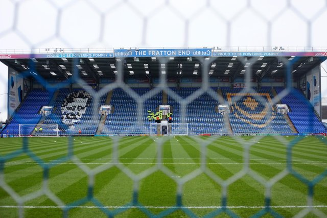 Pompey have announced plans to begin immediately a £10m refurbishment of Fratton Park.  Picture: Charlie Crowhurst/Getty Images