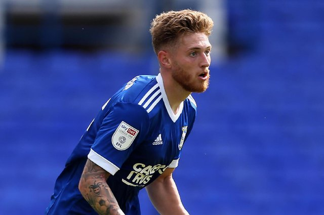 Teddy Bishop in action for Ipswich. Picture: Stephen Pond/Getty Images