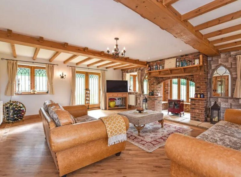 This five bedroom home is on sale for £1.295m.