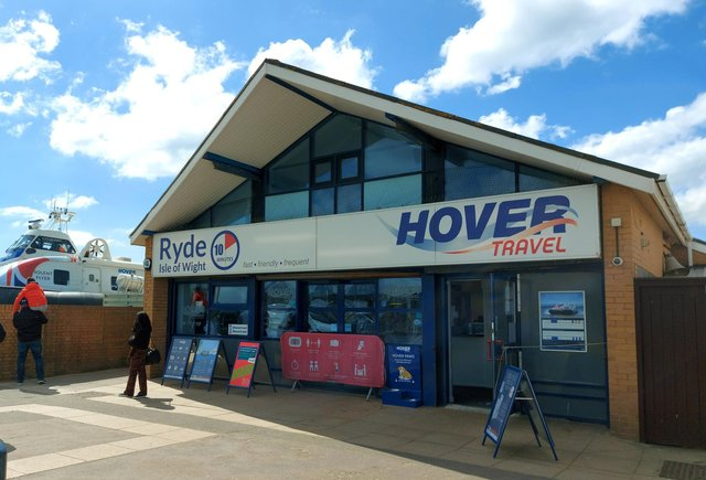 The Hovercraft terminal in Southsea. Picture: Sarah Standing