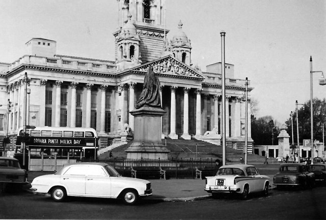 Guildhall Square when it was open to traffic undated