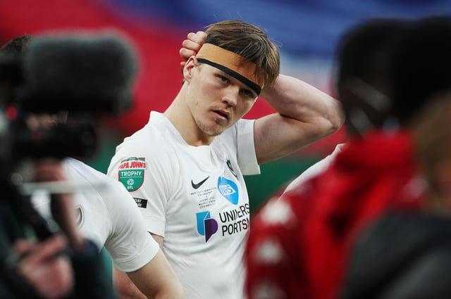 Pompey defender Sean Raggett