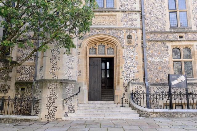 Winchester Coroners Court.  Picture: Jordan Pettitt/Solent News & Photo Agency