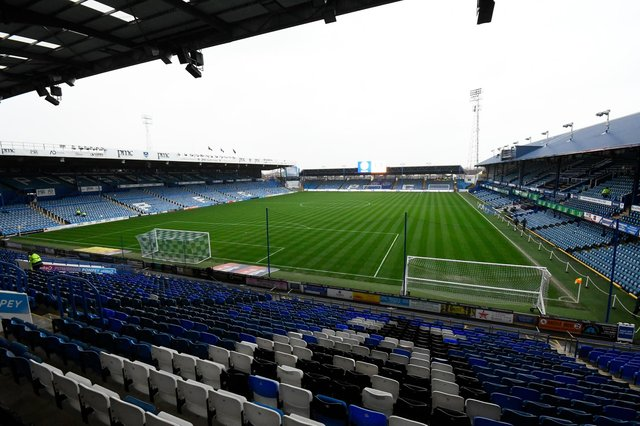 Work has begun on a £10m project to redevelop Fratton Park over the next three years. Picture: Graham Hunt/ProSportsImages/PinP