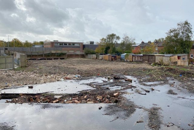 Plans have been submitted to build 18 homes in a disused brownfield site in Fareham town centre. Picture: Imperial Housing
