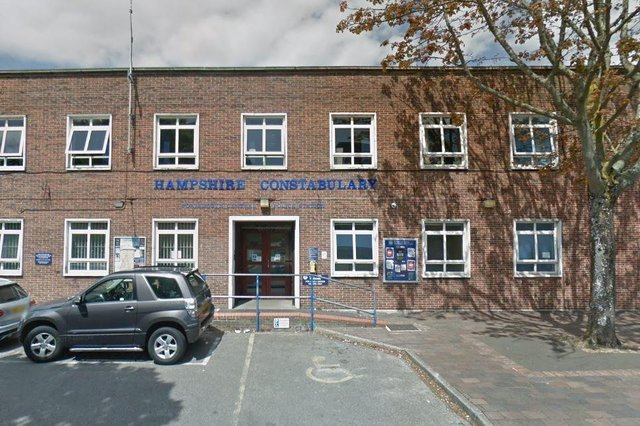 Portsmouth Central police station. Picture: Google